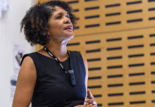 MP Chi Onwurah, Labour's Shadow Minister for Industrial Strategy, Science and Innovation delivered a lecture on 'The Importance of Diversity in STEM.'