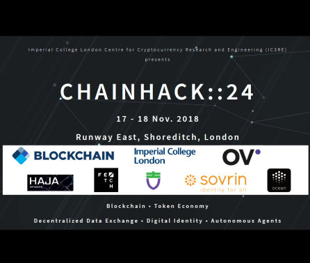 Imperial's first blockchain hackathon announced
