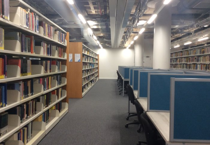 Central Library levels 2 and 3 now open