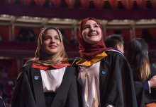 Over 2,400 students received their undergraduate degrees during Imperial's Commemoration Day ceremonies held in the Royal Albert Hall.