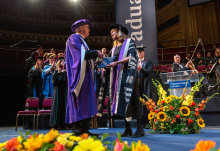 Celebrating Imperial's first Provost as James Stirling receives honorary degree
