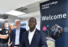 Universities Minister joins education app showcase at Imperial Enterprise Lab