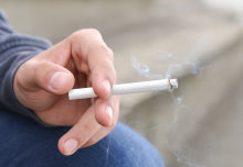 Teenagers whose mothers smoked during pregnancy, or whose parents or friends smoke, are more likely to smoke themselves.