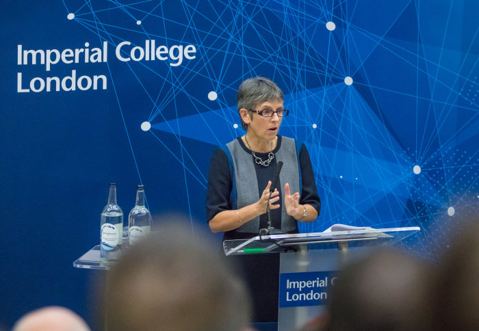 London Police Commissioner talks digital policing at annual Imperial lecture