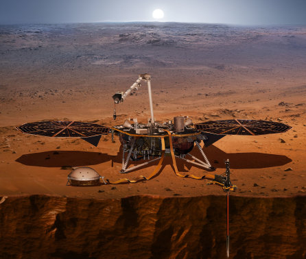 Marsquake sensor lands safely on Red Planet