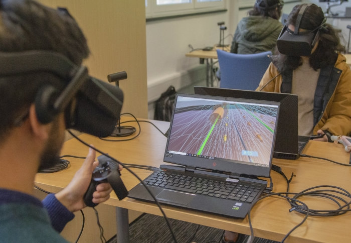 Innovative virtual reality software developed to enhance fluid dynamics lectures