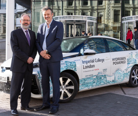 Imperial hosts fuel cell car to support hydrogen power research