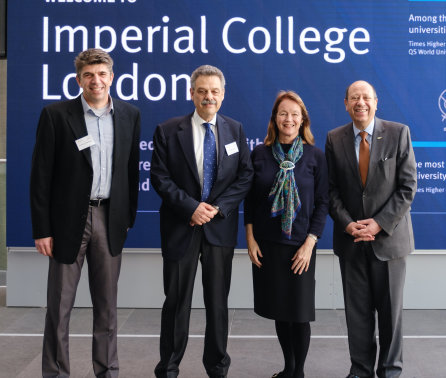 Imperial and Cyprus showcase research to protect water and energy supplies