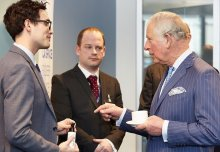 ICB student startup Fresh Check meets the Prince of Wales