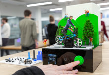 Fruit graffiti gadgets and stress-sensing offices: a design engineering showcase