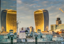 Did British weather save the day from Walkie Talkie 'death ray'?