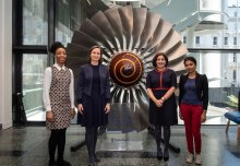 Women graduates visit to inspire current Mech Eng students