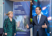 Mayor of Seoul forges new bioscience ties in White City