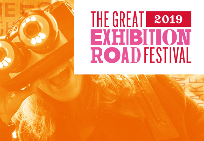 Great Exhibition Road Festival branding