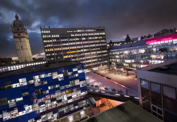 Imperial College at Night