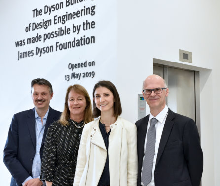 "Celebration as Dyson School building ""for design engineers of the future"" opens"