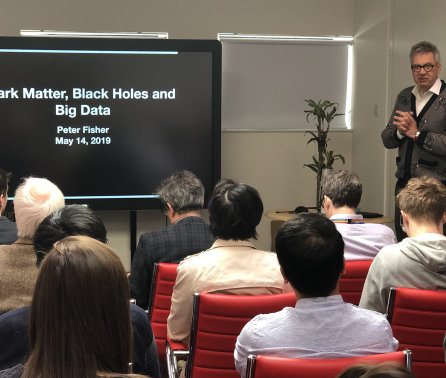 Dark Matter, Black Holes and Big Data