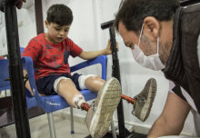 First manual on child blast injuries launched by Imperial and Save the Children
