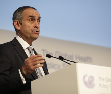 Japanese government honours Lord Darzi