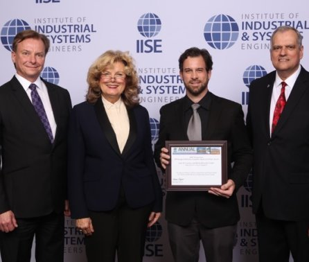 Michel-Alexandre Cardin receives the 2019 IISE Award