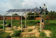 $100K awarded to social enterprise for developing solar pumps in rural India