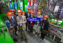 "Imperial celebrates ""intellectual achievement of humankind"" at CERN visit"