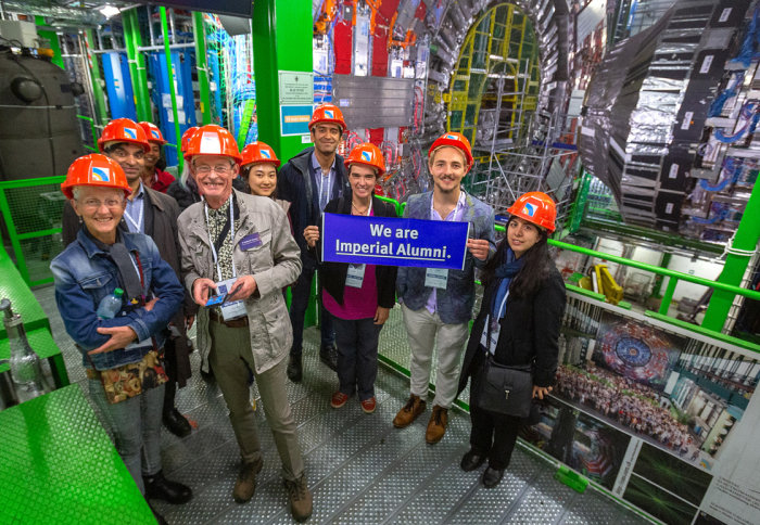 Imperial alumni at CERN