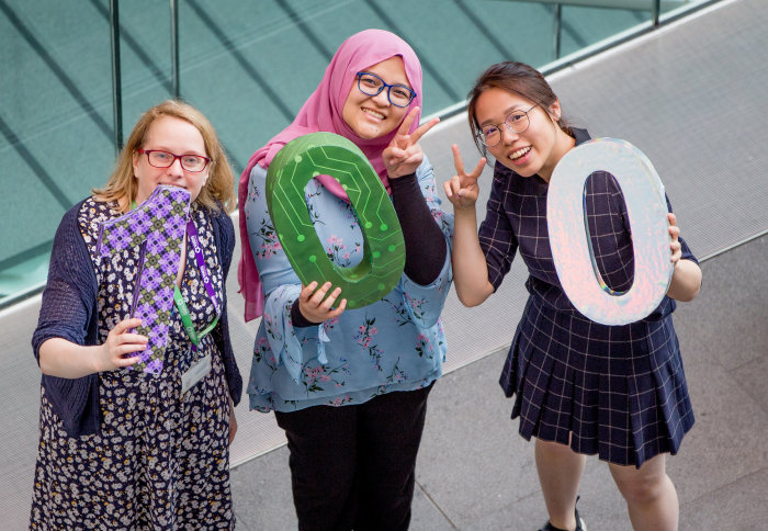 Staff and students celebrate 100 years of WES