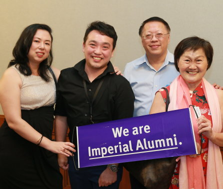 Singaporean alumni celebrate as School of Public Health campaign goes global