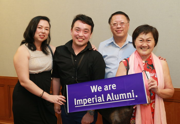 Alumni at the event