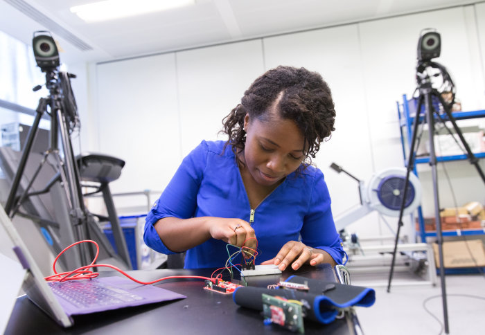 Ophelia Johnson, former MRes student in the Department of Bioengineering