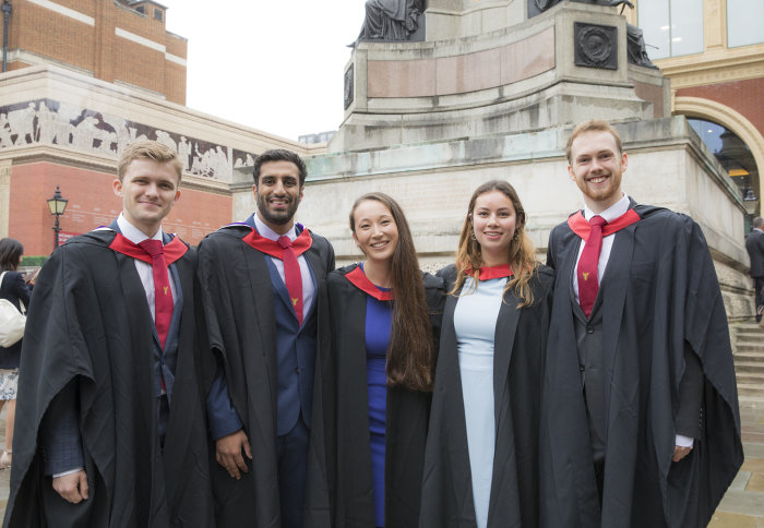 Graduating medicine students enjoy Commemoration Day 2018 at the Royal Albert Hall