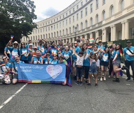 Imperial take to the streets for Pride in London