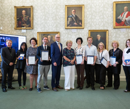 Staff praised for empowering women academics