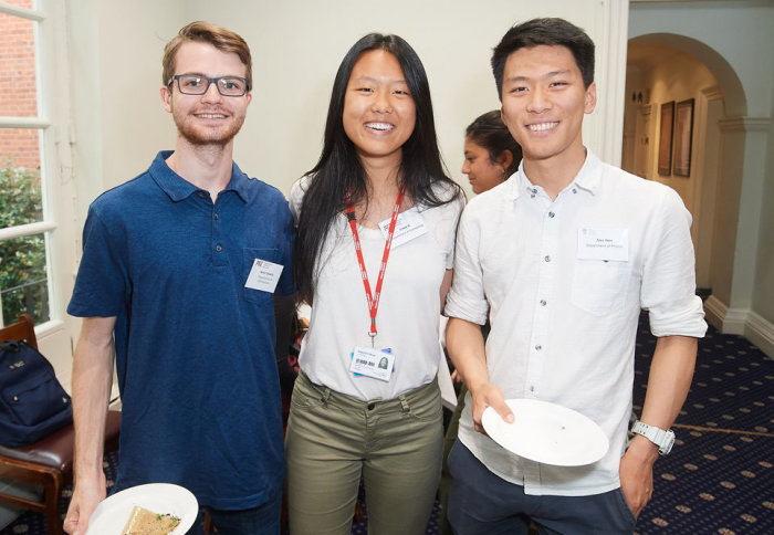 International students at the welcome afternoon tea