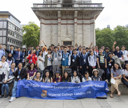 First Data Science Entrepreneurship Summer School at Imperial College
