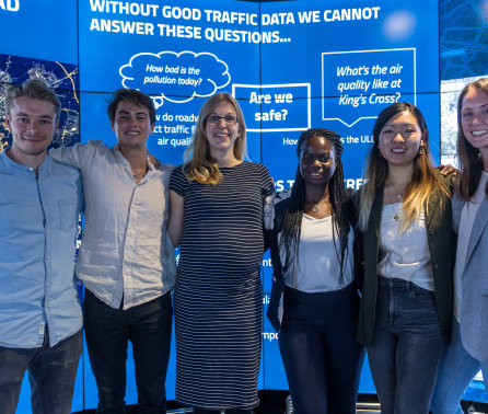 Data scientists tackle real-world problems in new summer fellowship programme