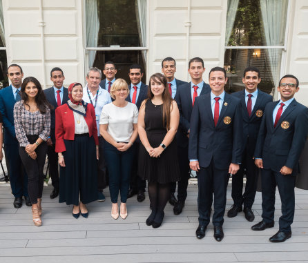 Egyptian medical students gain first clinical experience on Imperial programme