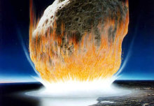 First day of dinosaur extinction recorded in rocks at asteroid impact site