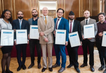 Imperial apprentices celebrate achievements at graduation ceremony