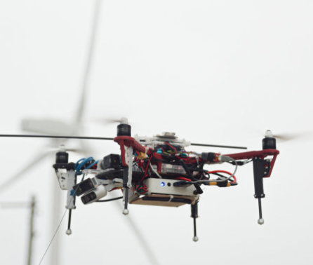 Aerial Robotics Lab creates new drone for inspecting offshore wind farms