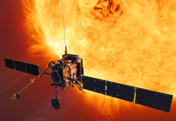 Solar Orbiter spacecraft heads to launch site on its way to the Sun