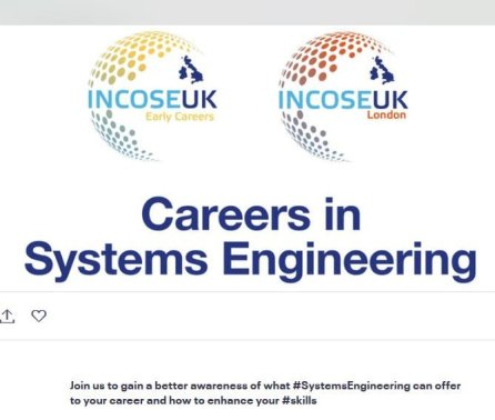 INCOSE UK London Event 'Careers in Systems Engineering'