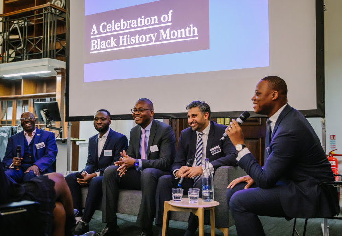 Panel discussion as part of Black History Month