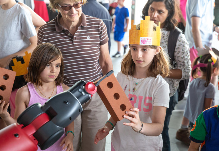 Fun in the Robot Zone at the Great Exhibition Road Festival 2019