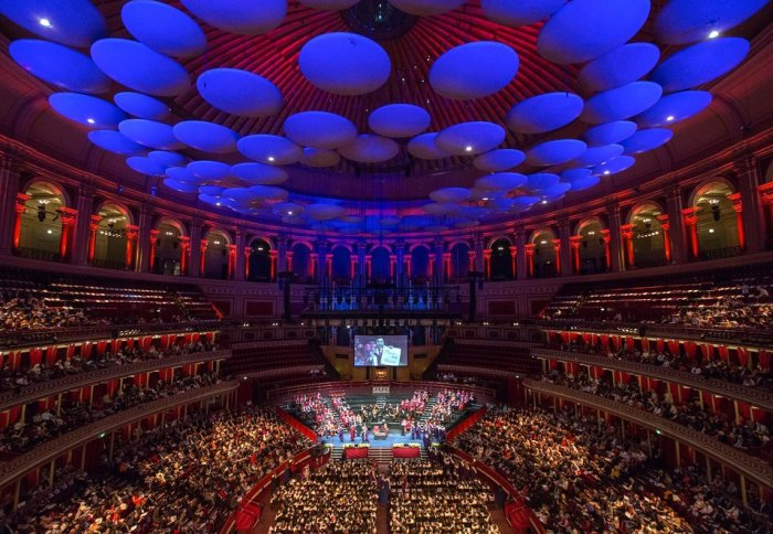 Graduation ceremony at the Royal Albert Hall