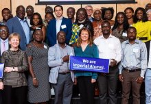 Imperial celebrates its growing links with Ghana at alumni event in Accra