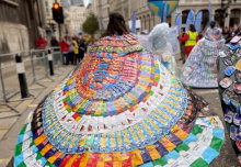 Fast trashion: Exhibition of garments made from street-litter opens at Imperial