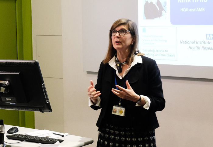 Alison Holmes, Professor of Infectious Diseases at Imperial College London and Director of Infection Prevention and Control at Imperial College Healthcare NHS Trust