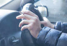 Ban on smoking in cars cut child exposure to cigarette smoke